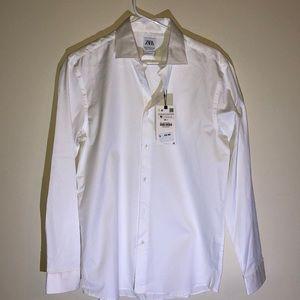 NWT, Men's Zara dress shirt, button down